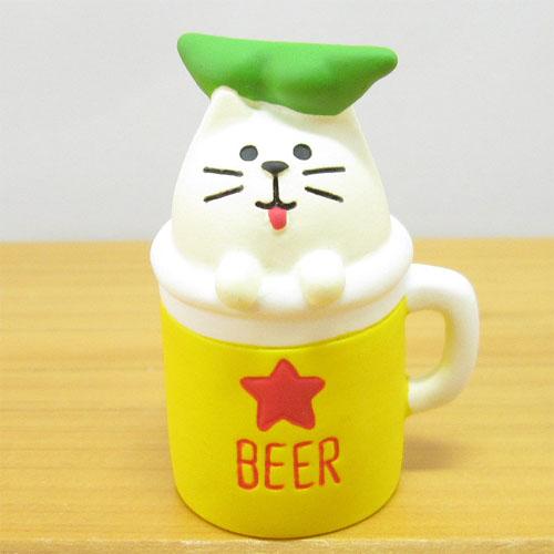 DECOLE(デコレ) concombre(コンコンブル) おばけ茶屋シリーズ おばけ猫ビール