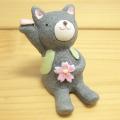 春のインテリアにピッタリなかわいいマスコット♪集めて飾って楽しみませんか?NAUGHTY(ノーティー) SAKURAノーティー ネコ