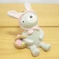 楽しいお花見シーズンに!春仕様のかわいいマスコットはいかが♪NAUGHTY(ノーティー) お花見ハッピーノーティー ウサギ