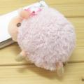 baby nature(ベイビーナチュレ) ストラップ ひつじ ハイビスカス(ピンク)