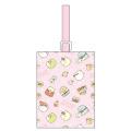 持ち手を通すだけの使いやすくってシンプルなシューズバッグ♪すみっコぐらし キルトシューズバッグ(ピンク)【シューズバッグ 女の子】