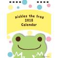 にっこりピクルスに思わず私もにっこりなっちゃう♪カエルのピクルス(かえるのピクルス) 2018年 卓上カレンダー 【2018年 カレンダー】