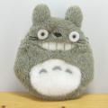 かわいいトトロがふんわり手触りのコインケースに♪スタジオジブリコレクション 【となりのトトロ】 ふんわり小銭入れ 大トトロ・笑い