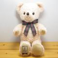いろんなポーズでもっとかわいくなっちゃうよ♪サンアロー オリジナルぬいぐるみ 日本製 テディベア くまのメロディ Mサイズ(ピンク)