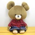 >童心 日本製 クマのフカフカ Mサイズ(ローズ)