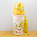 ワンタッチで簡単開け閉め!飲みやすいダイレクト飲み口の水筒♪すみっコぐらし ダイレクト水筒(おにぎりパーティー) 食洗機対応