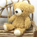 >童心 日本製オリジナル くまのぬいぐるみ フカフカシリーズ クマのフカフカ Sサイズ(ブラウン)