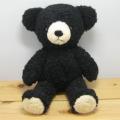 童心 日本製オリジナル くまのぬいぐるみ フカフカシリーズ クマのフカフカ Mサイズ(ブラック)