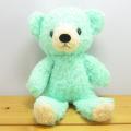 フカフカくたくた・・・。癒されます♪童心 日本製オリジナル くまのぬいぐるみ フカフカシリーズ クマのフカフカ Sサイズ(ミント)