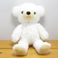 数量限定です♪童心 日本製オリジナル くまのぬいぐるみ フカフカシリーズ クマのフカフカ Mサイズ ユニコーン・ホワイト