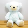 数量限定です♪童心 日本製オリジナル くまのぬいぐるみ フカフカシリーズ クマのフカフカ Mサイズ ユニコーン・ブルー