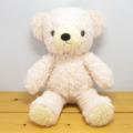 >童心 日本製オリジナル くまのぬいぐるみ フカフカシリーズ クマのフカフカ Mサイズ ノスタルジーク・ローズ
