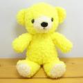 フカフカモコモコ、かわいい♪童心 日本製オリジナル くまのぬいぐるみ フカフカシリーズ クマのフカフカNEW Sサイズ たんぽぽ