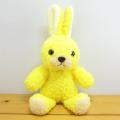 モコモコでかわいい♪童心 日本製オリジナル うさぎのぬいぐるみ フカフカシリーズ ウサギのフカフカNEW Sサイズ たんぽぽ