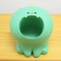 印鑑大好きはらぺこあにまる!口を開けて待ってます♪DECOLE(デコレ) はらぺこあにまる(harapeko animal) 印鑑スタンド きょうりゅう
