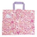 学校やおけいこはお気に入りのバッグで♪サンリオ ハローキティ(Hello Kitty) キルトレッスンバッグ ピンク【レッスンバッグ 女の子】