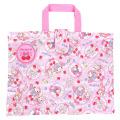 おけいこもお気に入りのバッグで♪サンリオ マイメロディ(MY MELODY) キルトレッスンバッグ ピンク【レッスンバッグ 女の子】