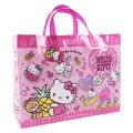 プールや海に!夏のお出掛けにおすすめ!サンリオ ハローキティ(Hello Kitty) ビーチバッグ(マチあり)【プールバッグ 女の子】