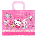 おけいこもお気に入りのバッグ♪サンリオ ハローキティ(Hello Kitty) キルトレッスンバッグ ローズピンク【レッスンバッグ 女の子】
