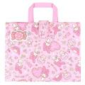 おけいこはお気に入りのバッグで♪サンリオ マイメロディ(MY MELODY) キルトレッスンバッグ ピンク【レッスンバッグ 女の子】