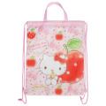 学校に持って行く体操服や給食着入れに!かわいいバッグで通学も楽しく♪サンリオ ハローキティ(Hello Kitty) ナップサック