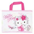 おけいこもお気に入りのバッグで♪キャラクター キルトレッスンバッグ サンリオ ハローキティ(Hello Kitty) 【レッスンバッグ 女の子】