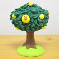 いろいろ飾って楽しい!おいしそうなマスコット♪DECOLE(デコレ) concombre(コンコンブル) まったりゆず日和もぎたて ゆずの木