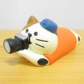 まったりかわいい旅猫たちが旅猫登山部結成♪DECOLE(デコレ) concombre(コンコンブル) 旅猫登山部 三毛猫シャッターチャンス