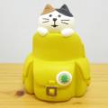 ちょこんと飾ってほんわか!旅猫たちが旅猫登山部結成♪DECOLE(デコレ) concombre(コンコンブル) 旅猫登山部 子猫リュック