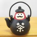 だるま茶屋で休憩しましょ♪DECOLE(デコレ) concombre(コンコンブル) まったりマスコット 峠のだるま茶屋シリーズ 茶瓶だるま