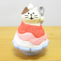 この夏はおばけ茶屋の人気あの世メニューで舌鼓♪DECOLE(デコレ) concombre(コンコンブル) おばけ茶屋シリーズ いちご氷猫