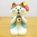 DECOLE(デコレ) concombre(コンコンブル) まったりマスコット 節分シリーズ 恵方巻猫