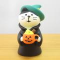 デコレ コンコンブル 秋の夜長のハロウィン縁日 魔女猫 かぼちゃラテ