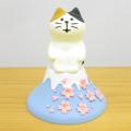 いざ、春爛漫お花見スイーツめぐりの旅へ♪DECOLE(デコレ) concombre(コンコンブル) 旅猫 日本横断 桜めぐり旅 富士桜猫