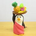 コンブルの仲間も夏はフェスで盛り上がります♪DECOLE(デコレ) concombre(コンコンブル) コンコンフェス2018 フルーツ売りペンギン