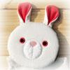 動物モチーフの雑貨屋さん ウサギさんの雑貨コーナー